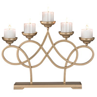 Internationale Soft Gold Candelabra