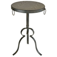 Circa 15 inch Hazelnut And Rust End Table Home Decor
