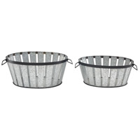 Sterling 3200-214/S2 Farm To Table Galvanized Steel with Black Tray