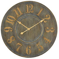 Queensland Govern Grey Wall Clock