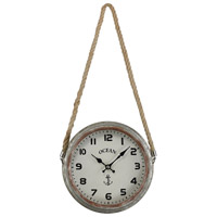 Sterling 3205-009 Somers Point 9 X 9 inch Wall Clock