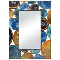 Demetrios 35 X 25 inch Printed Agate Wall Mirror Home Decor