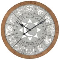 Astronomicon 33 X 33 inch Wall Clock