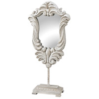 Jardin Chalk White Stand Mirror