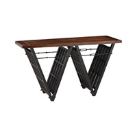 Sterling Signature Industrial Era Console with Iron Stretcher 351-10166