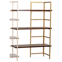 Sterling 351-10167EXT Balart 47 X 29 X 13 inch Walnut & Gold Shelf Unit Extension