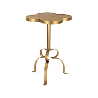 Signature 17 X 17 inch Gold Table Home Decor