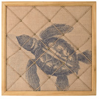 Sterling Signature Turtle on Linen Note Board 351-10193