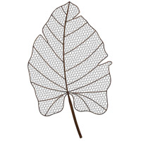 Sterling Signature Wire Palm Frond Wall Decor 351-10218