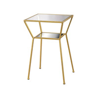 Magnoux 16 X 16 inch Gold Table Home Decor