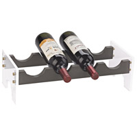 Krauss Grey, Clear Wine Rack