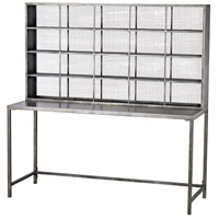 Gunther 60 X 22 inch Graphite Desk Home Decor