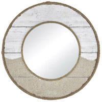 Old South Wharf 31 X 31 inch Sand And White Wash Wall Mirror Home Decor