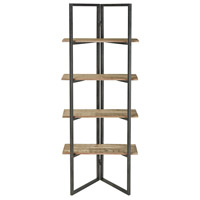 Sterling 351-10529 Flex 60 X 24 X 11 inch Grey Washed Oak/Aged Black Shelf