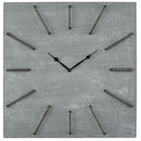 Sterling 351-10532 New Brutalism 26 X 26 inch Wall Clock