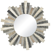 Chatham Light 32 X 32 inch Grey Wall Mirror Home Decor