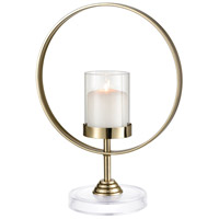 Full Moon 15 X 11 inch Candle Holder, Round