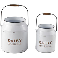 Sterling 351-10717/S2 Early Light White/Navy Pail