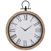 Sioux City 26 X 20 inch Wall Clock
