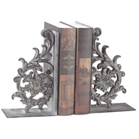 Whitton 12 X 4 inch Windfort Rust Bookends, Set of 2