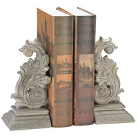 Sterling 387-025/S2 Windfort 8 X 4 inch Windfort Stone Bookends, Set of 2