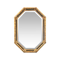 Sterling Industries Inlay Octagon Mirror in Gold Leaf 40-2376M