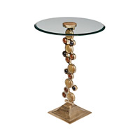 Signature 18 X 18 inch Champagne Side Table Home Decor