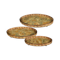 Sterling Industries Set of 3 Oval Appaloosa Trays 50-7668