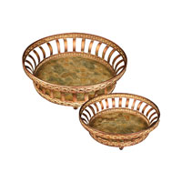 Sterling Industries Set of 2 Round Appaloosa Trays 50-7671