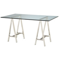 Sterling 5001100 Signature 60 X 36 inch Polished Nickel Desk Home Decor