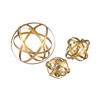 Open Structure Gold Metal Orb