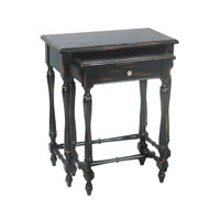 Sterling Industries Set of 2 Ebony Stacking Tables 51-0075 photo thumbnail