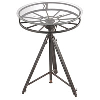 Sterling Tripod Accent Table in Black 51-013