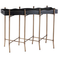 Signature 43 X 15 inch Gold and Black Console Table Home Decor