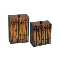 Sterling Industries Set of 2 Branch Boxes Decorative Accessory 51-0186