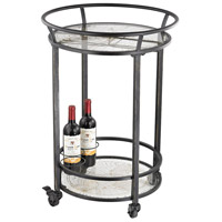 Sterling Signature Bar Cart in Black and Gold 51-021