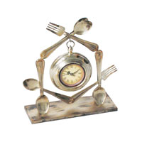 Sterling Industries Utensil Clock ( 1- AA Battery Not Included) 51-0210