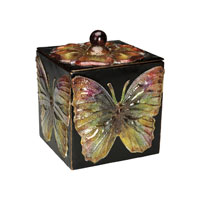 Sterling Industries Butterfly Keepsake Box Decorative Accessory 51-0608