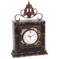 Finial 14 X 3 inch Mantle Clock
