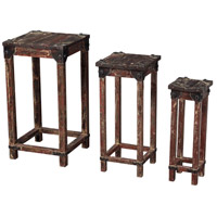 Sterling Industries Set Of 3 Distressed Finish Stacking Tables Tea Table in Horizonte 51-10035/S3