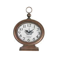 Sterling Industries Standing Clock in Carmo Copper 51-10043