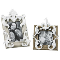 Sterling Industries Picture Frame in Richland Grey / Caramel With White 51-10063