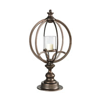 Sterling Industries Hurricane Lantern in Conduit Copper 51-10070 photo thumbnail