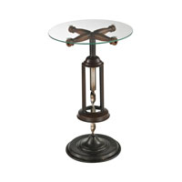 Bordeaux 15 X 15 inch Mayfield Bronze Accent Table Home Decor