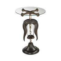 Sterling Signature Accent Table in Mayfield Bronze 51-10087