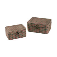 Sterling Signature Box in Antique Gingham 51-10107/S2