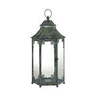 Signature 11 inch Marled Grey Lantern Ceiling Light