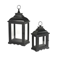 Sterling Signature Lantern in Matt Black 51-10109/S2