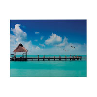 Maldives 32 X 25 inch Art Print