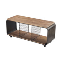 Sterling Maltapan TV Stand in Dark Grey 51-10139